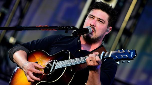 Marcus Mumford will help choose the winner (Ian West/PA)