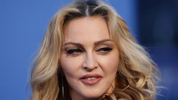 Madonna previously said she had a relationship with the rapper (Yui Mok/PA)