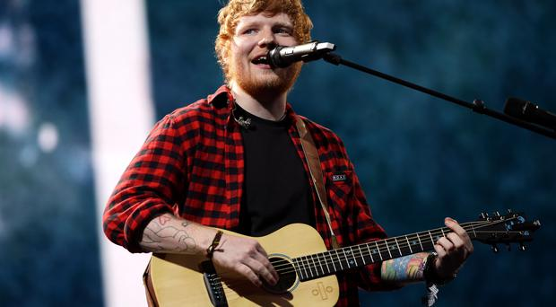 'I've had an accident' - Ed Sheeran shows injuries after being 'hit by a car'