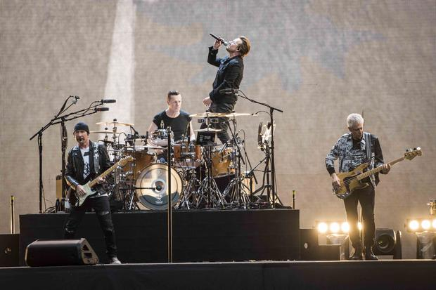 U2 announce United Kingdom show dates