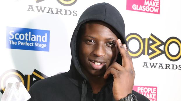 Abra Cadabra at the 21st Mobo Awards (Andrew Milligan/PA)
