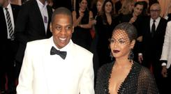 Beyonce and Jay-Z (PA)