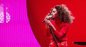 Solange performs at the 2017 Essence Festival earlier this month (Amy Harris/Invision/AP)