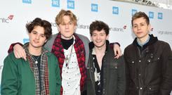 The Vamps' Brad Simpson, Tristan Evans, Connor Ball and James McVey (Matt Crossick/PA)