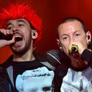 Chester Bennington said Linkin Park was his 'best relationship' just months before his death (Lewis Stickley/PA)