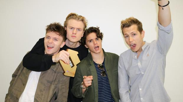 Ed Sheeran knocked off top spot as The Vamps scoop first number one album (OfficialCharts.com)