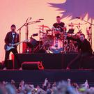 U2 played their only Irish date (Brian Lawless/PA)