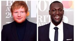 Ed Sheeran and Stormzy to battle it out for Mercury Prize (Ian West/PA)