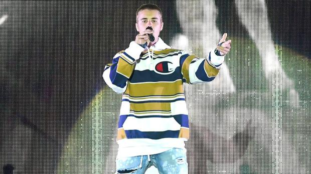 Justin Bieber breaks silence on cancelled tour dates (Ian West/PA)