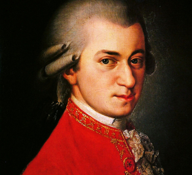 Mozart, who wrotes Ein musikalischer Spass, which is associated with the BBC's Horse of the Year show