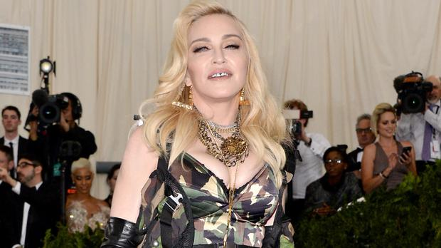 Madonna marked her son's 17th birthday with a throwback picture (Aurore Marechal/PA)