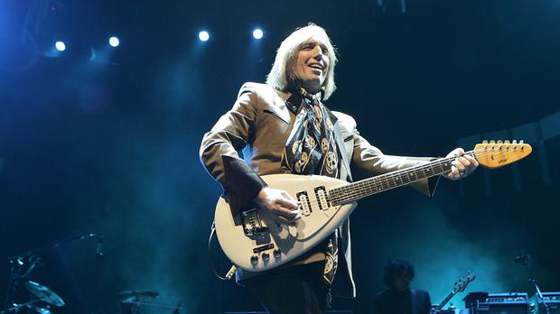 Tom Petty on stage