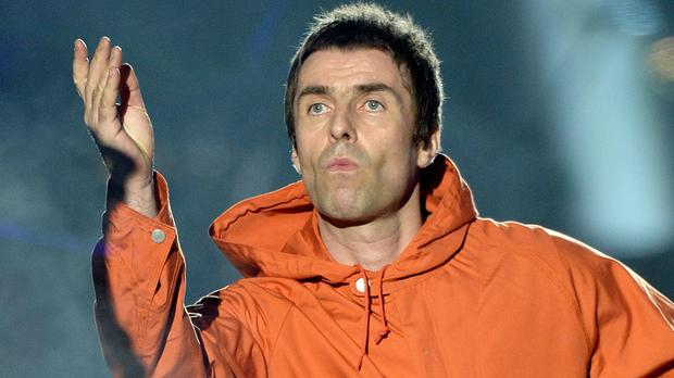 Liam Gallagher performing in Manchester (Dave Hogan for One Love Manchest/PA Wire/PA Images)