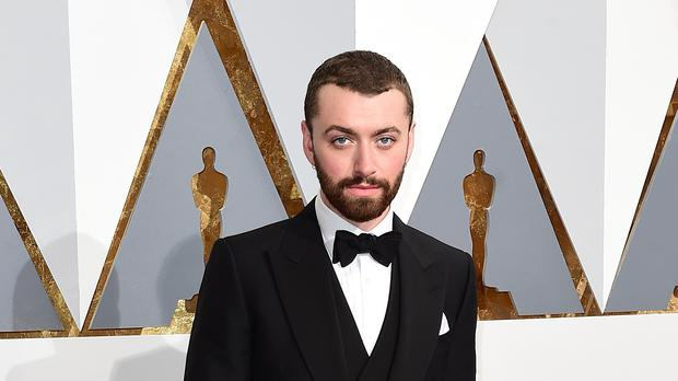Sam Smith at the 2016 Academy Awards (PA)