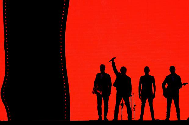 U2 on The Joshua Tree Tour