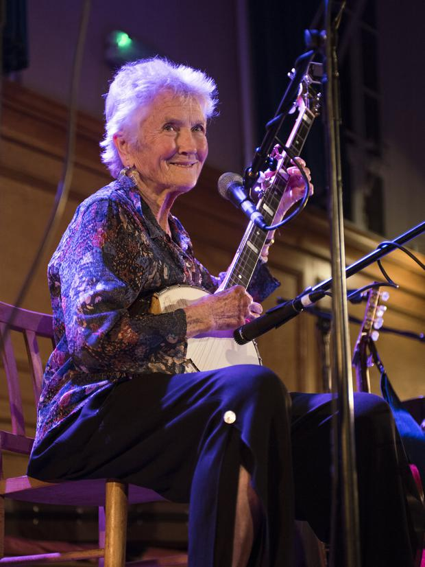 Regular visitor: Seeger says she has long been drawn to the folk music tradition of this country. Photo: Robin Little