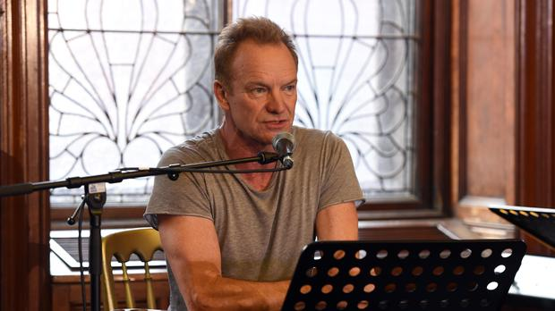 Sting at Fairfield Heritage Centre