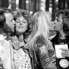 Abba congratulate each other after winning the Eurovision Song Contest (PA)