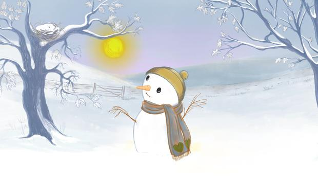 The Very Hot Snowman.