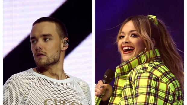 Liam Payne and Rita Ora.
