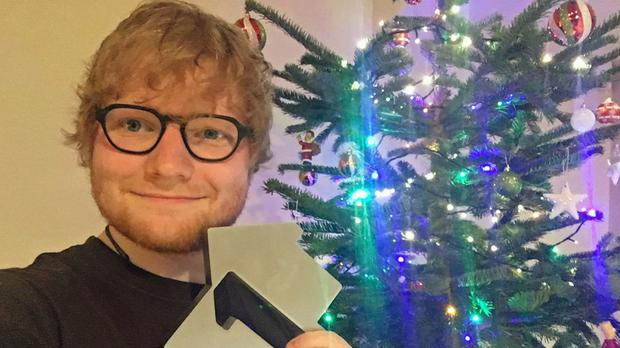 Ed Sheeran has scored the Christmas number one for 2017 (OfficialCharts.com)