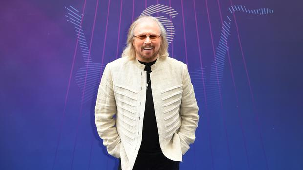 Barry Gibb attending the O2 Silver Clef Awards 2017