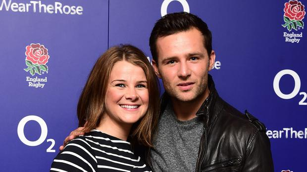 Harry Judd and wife Izzy (Ian West/PA)