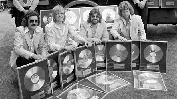 The Moody Blues in 1978