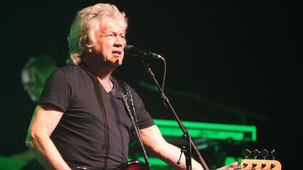 John Lodge of the classic rock band The Moody Blues performing in 2014 (Owen Sweeney/Invision/AP)