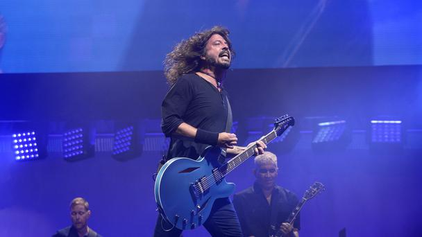 Dave Grohl of Foo Fighters (Ben Birchall/PA)