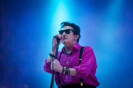 Paying tribute: Shane MacGowan will be honoured at a star-studded tribute in Dublin's NCH on Monday night