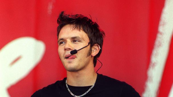 Paul Cattermole in his S Club 7 days (James Arnold/PA)