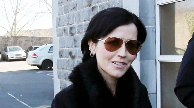 Dolores O'Riordan was in London for a recording session (Niall Carson/PA)