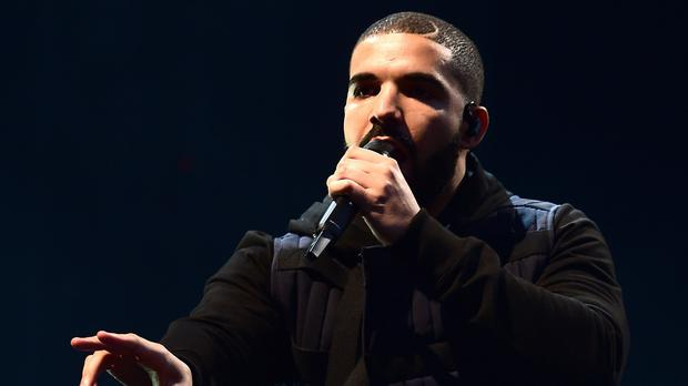 Drake overtook fellow rappers Eminem and Ramz (Ian West/PA)