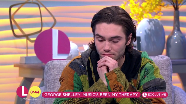 George Shelley's sister died after being hit by a car and hitting her head during a night out (ITV)