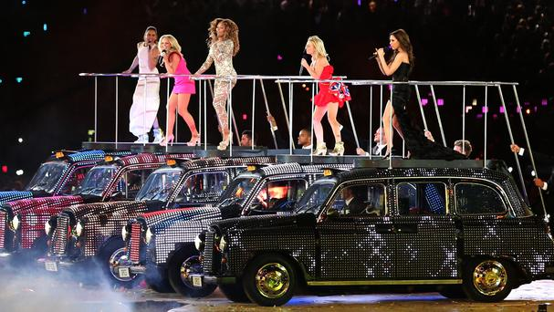 The Spice Girls became a smash-hit success before splitting in 2000 (Andrew Milligan/PA)