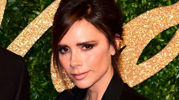 Victoria Beckham shared a photo of her on crutches