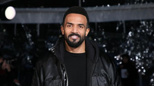Craig David attends The Global Awards (Joel Ryan/PA)