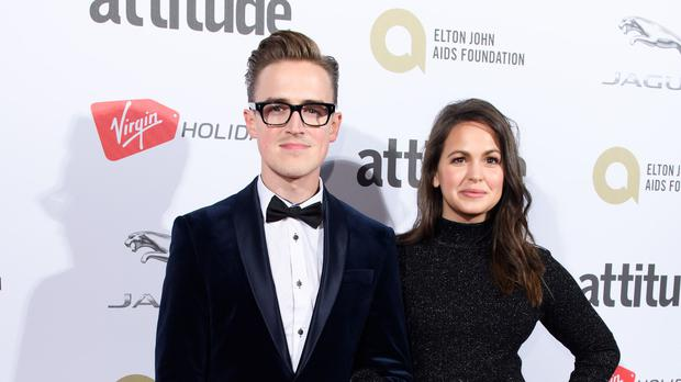 'Thought we'd make it a trilogy' - Tom Fletcher to become a father again (Jonathan Hordle/PA)