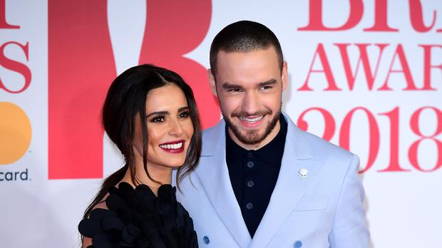 Cheryl and Liam Payne (Ian West)