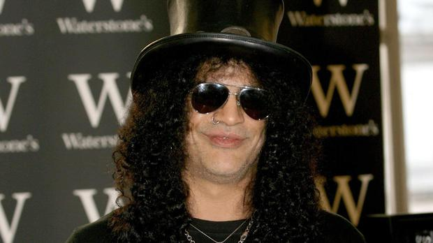 Guns N' Roses guitarist Slash