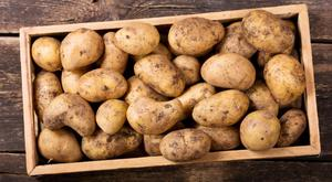 Potatoes: part of the 'peasant diet'
