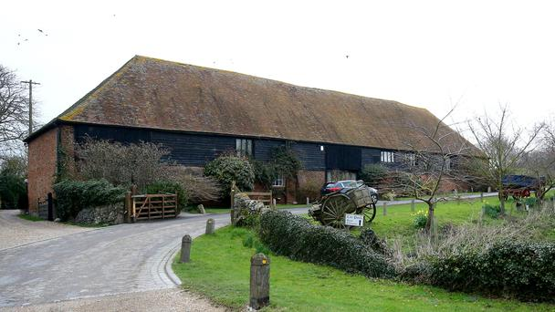 Cooling Castle Barn is a wedding venue next to the home of musician Jools Holland at Cooling Castle in Cooling, Kent (Gareth Fuller/PA)