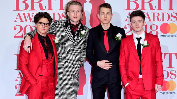 The Vamps (Ian West/PA)