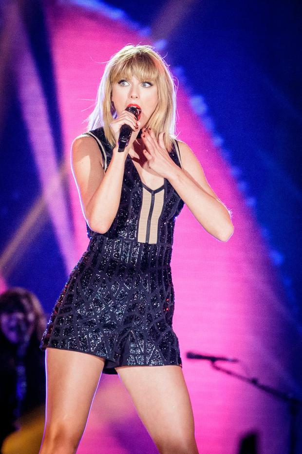 Taylor Swift features on the 99th Now compliation. Photo: Suzanne Cordeiro/AFP/Getty
