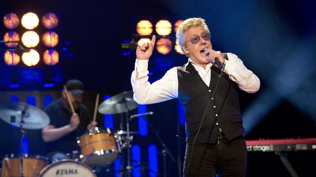 Roger Daltrey performs during filming for the Graham Norton Show at BBC Studioworks in London, to be aired on BBC One on Friday (Isabel Infantes/PA)