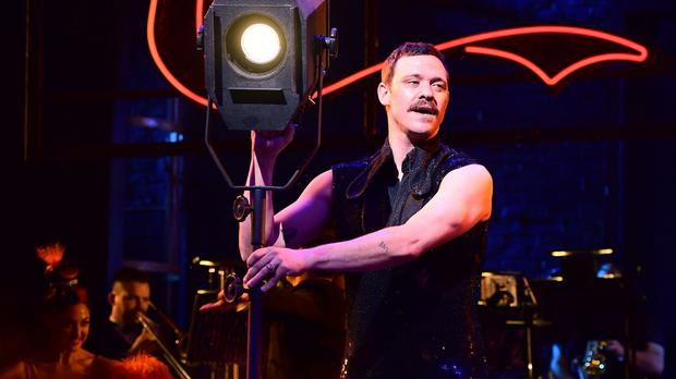 Will Young at a photocall for Baz Luhrmann's Strictly Ballroom The Musical (Ian West/PA)