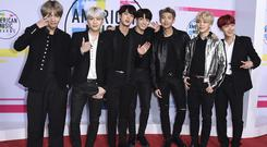 BTS have amassed a global following (Jordan Strauss/Invision/AP)