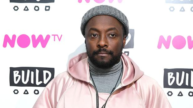 Will.i.am said the rapper's comments 'broke my heart' (Ian West/PA)