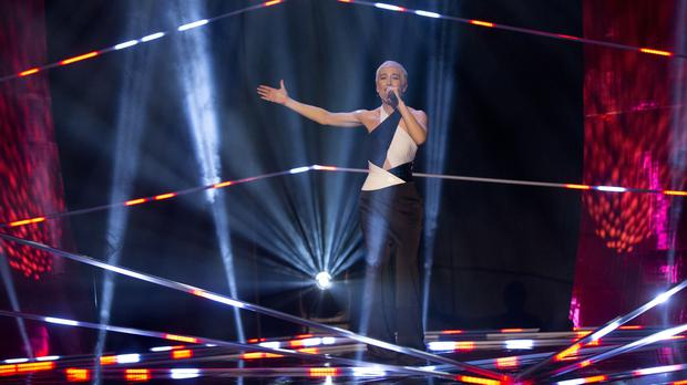SuRie will perform at the Eurovision final on Saturday (Isabel Infantes/PA)